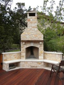 18 Gorgeous Outdoor Fireplaces And Patios Design Ideas For Your Backyard 20