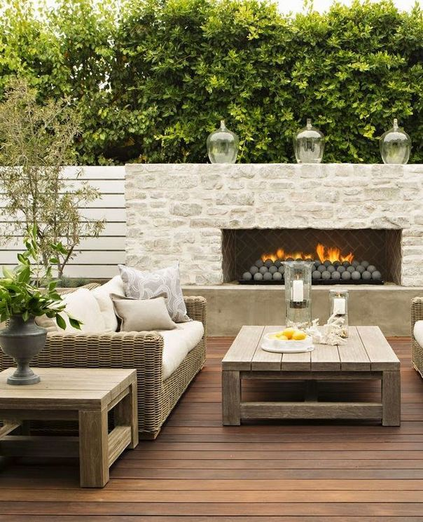 18 Gorgeous Outdoor Fireplaces And Patios Design Ideas For Your Backyard 28