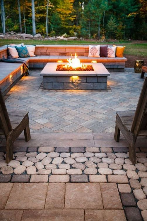 18 Gorgeous Outdoor Fireplaces And Patios Design Ideas For Your Backyard 38