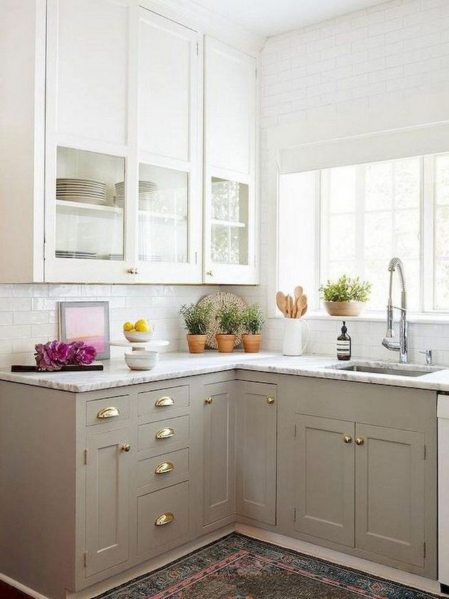 19 Clever Small Kitchen Remodel Open Shelves Ideas 19