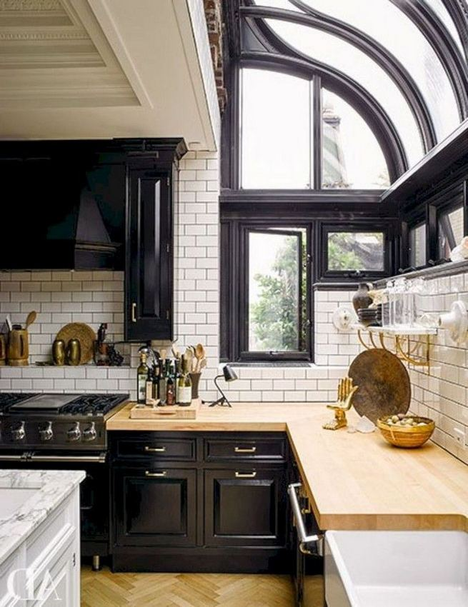 19 Clever Small Kitchen Remodel Open Shelves Ideas 36