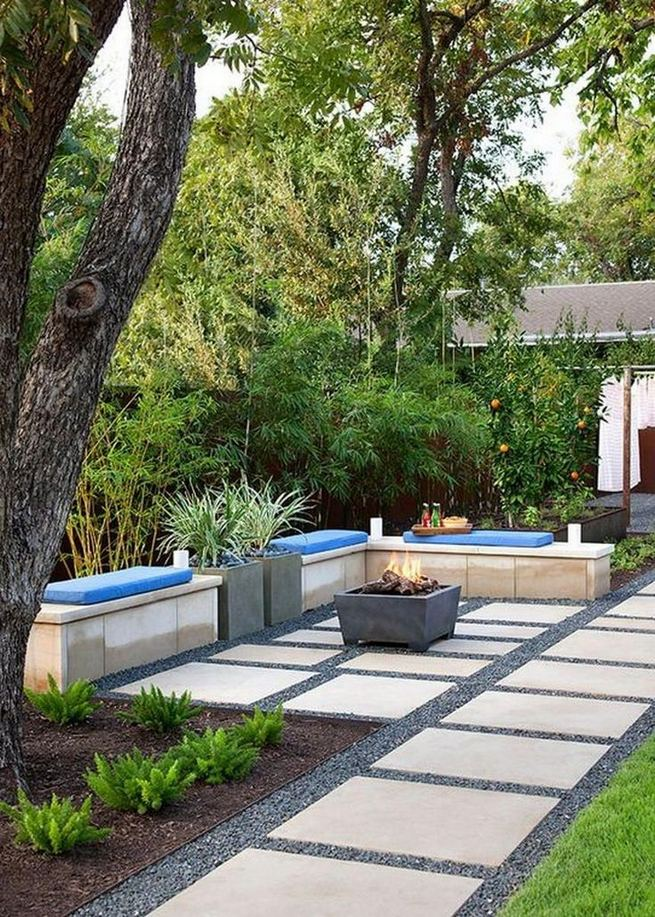 19 Fabulous Backyard Patio Landscaping Ideas 29