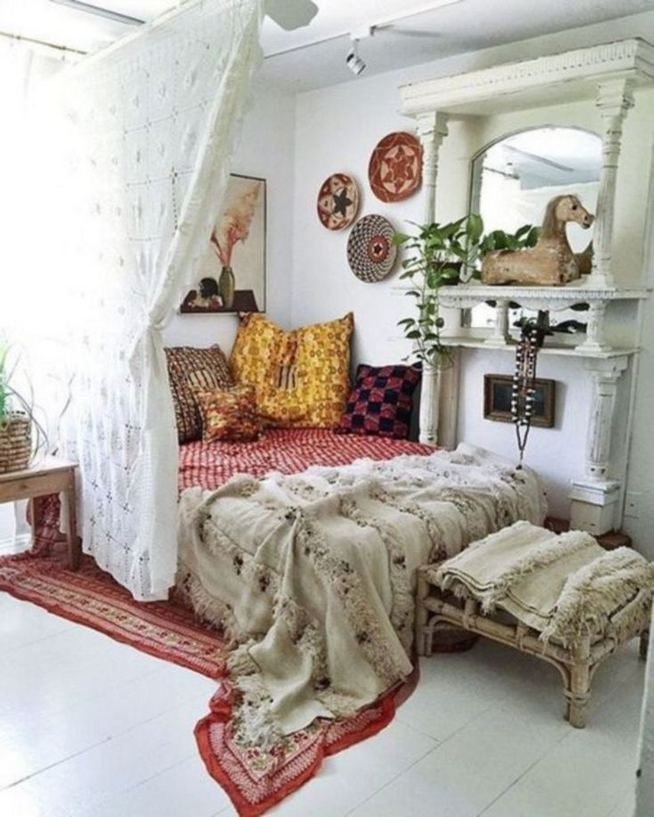 19 Romantic Boho Bedroom Decorating Ideas For Cozy Sleep 14