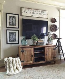 20 Unique Diy Rustic Farmhouse Decoration For Wall Living Room Ideas 01