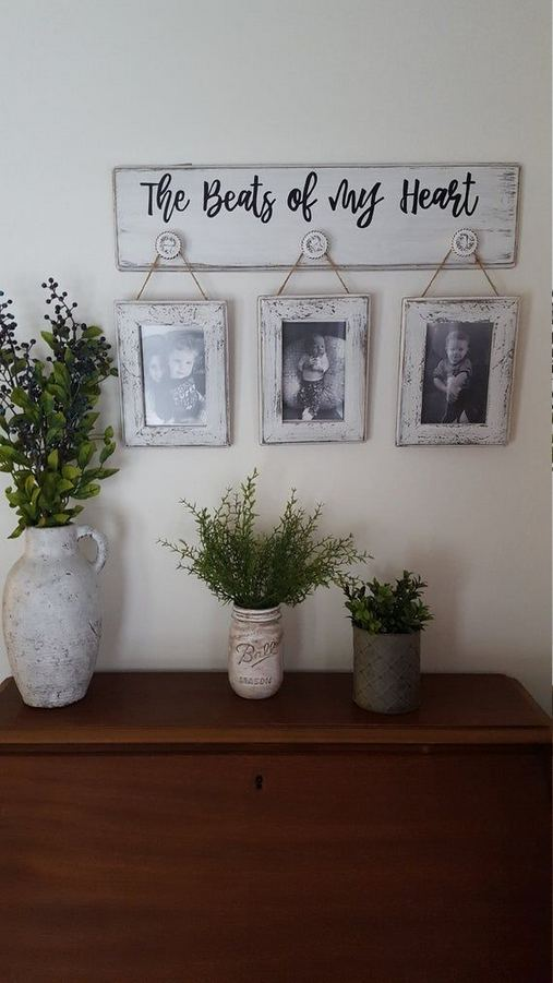 20 Unique Diy Rustic Farmhouse Decoration For Wall Living Room Ideas 22