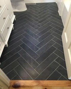 12 Beautiful Laundry Room Tile Pattern Design Ideas 08
