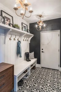 12 Beautiful Laundry Room Tile Pattern Design Ideas 18