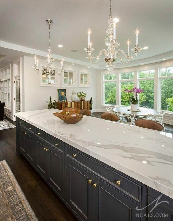 12 Stylish Luxury White Kitchen Design Ideas 06