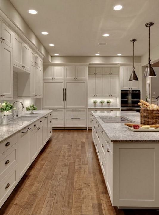 12 Stylish Luxury White Kitchen Design Ideas 08