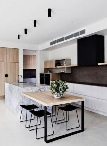 12 Stylish Luxury White Kitchen Design Ideas 16