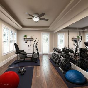 13 Comfy Gym Room Ideas For Small Spaces 01