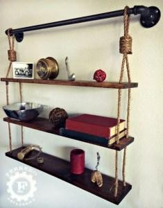 13 Creative DIY Pipe Shelves Design Ideas 18