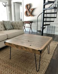 13 DIY Coffee Table Inspirations Ideas 17