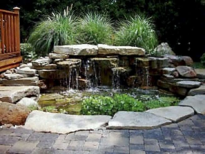 13 Gorgeous Backyard Pond Designs Ideas 35