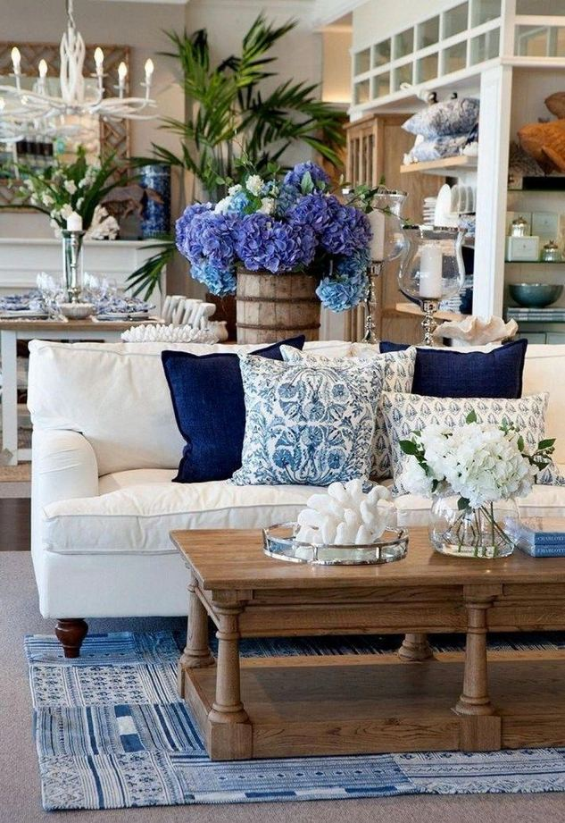 13 Inspiring Coastal Living Room Decor Ideas 07
