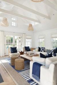 13 Inspiring Coastal Living Room Decor Ideas 25