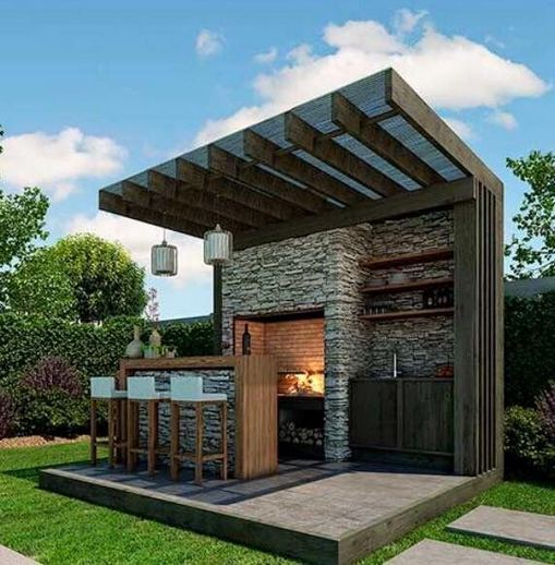 13 Totally Inspiring Outdoor Kitchens Design Ideas 02