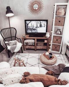 14 Cozy Bohemian Living Room Decoration Ideas 07