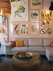 14 Cozy Bohemian Living Room Decoration Ideas 12