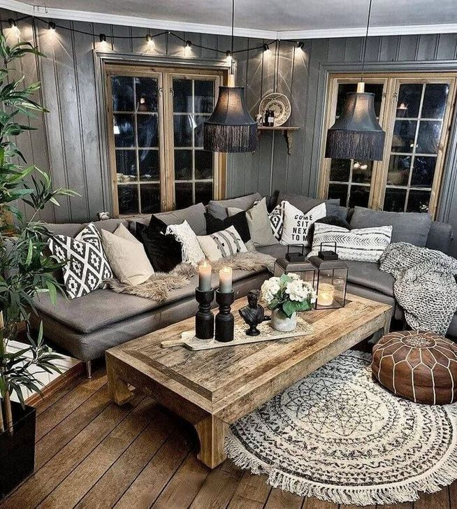 14 Cozy Bohemian Living Room Decoration Ideas 22