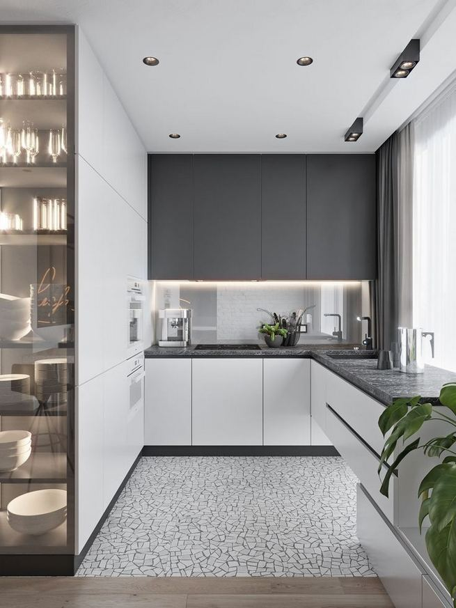 14 Design Ideas For Modern And Minimalist Kitchen 17