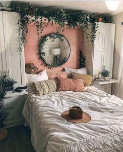 14 Elegant Boho Bedroom Decor Ideas For Small Apartment 04