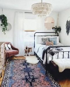 14 Elegant Boho Bedroom Decor Ideas For Small Apartment 07