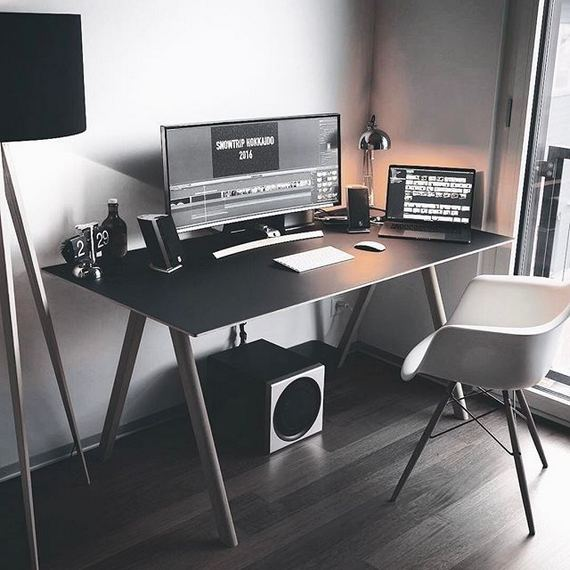 14 Elegant Computer Desks Design Ideas 20
