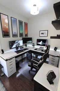 14 Elegant Computer Desks Design Ideas 21
