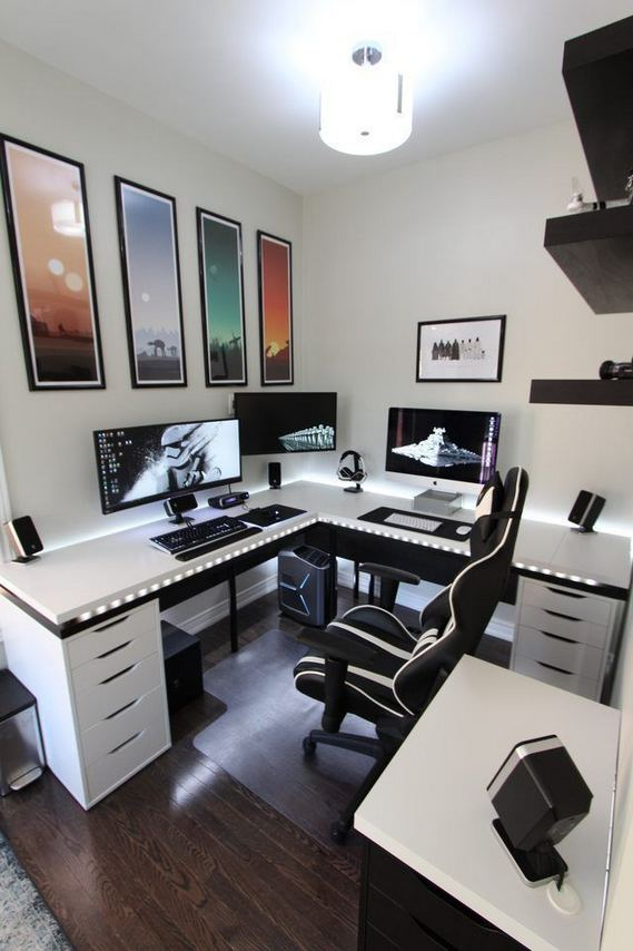 14 Elegant Computer Desks Design Ideas 21
