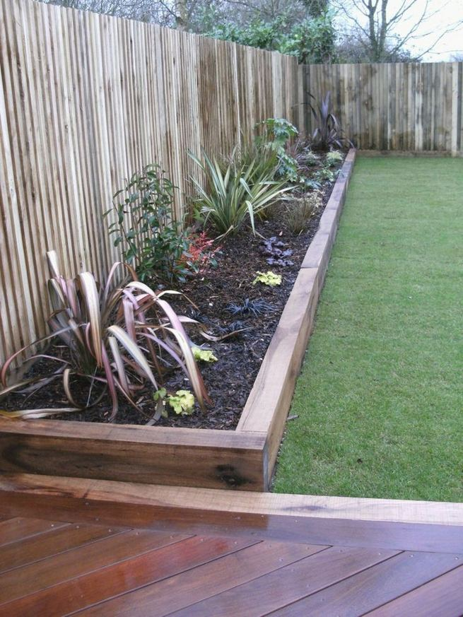14 Simple Raised Garden Bed Inspirations Backyard Landscaping Ideas 17