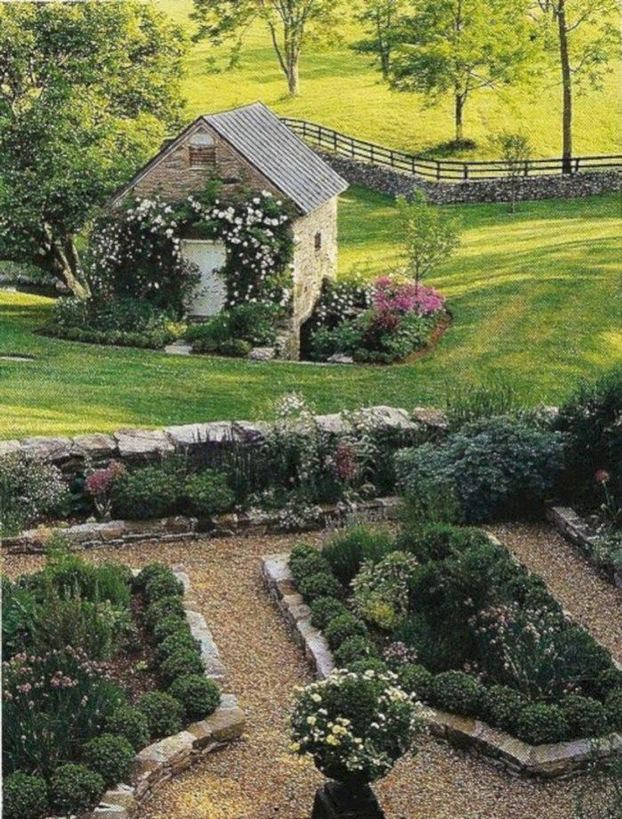 14 Simple Raised Garden Bed Inspirations Backyard Landscaping Ideas 25