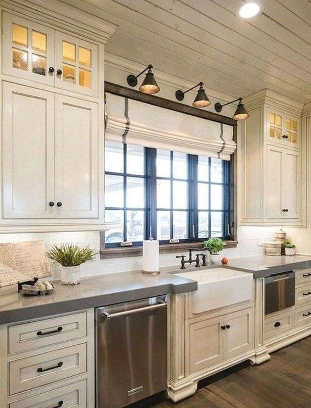 16 Modern Farmhouse Kitchen Cabinet Makeover Design Ideas 02