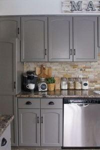 16 Modern Farmhouse Kitchen Cabinet Makeover Design Ideas 08
