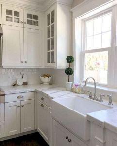 16 Modern Farmhouse Kitchen Cabinet Makeover Design Ideas 12