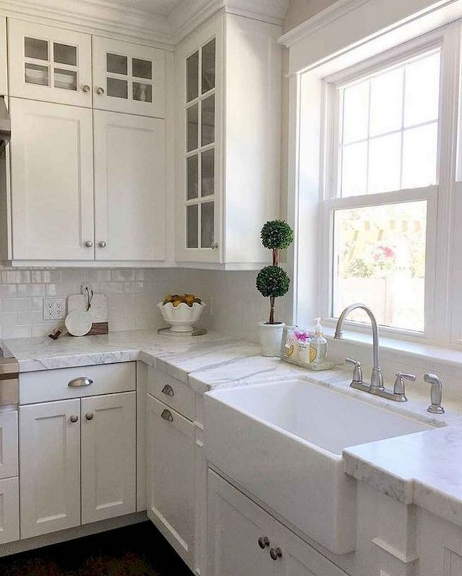 16 Modern Farmhouse Kitchen Cabinet Makeover Design Ideas 12