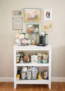 17 Easy DIY Mini Coffee Bar Ideas For Your Home 14