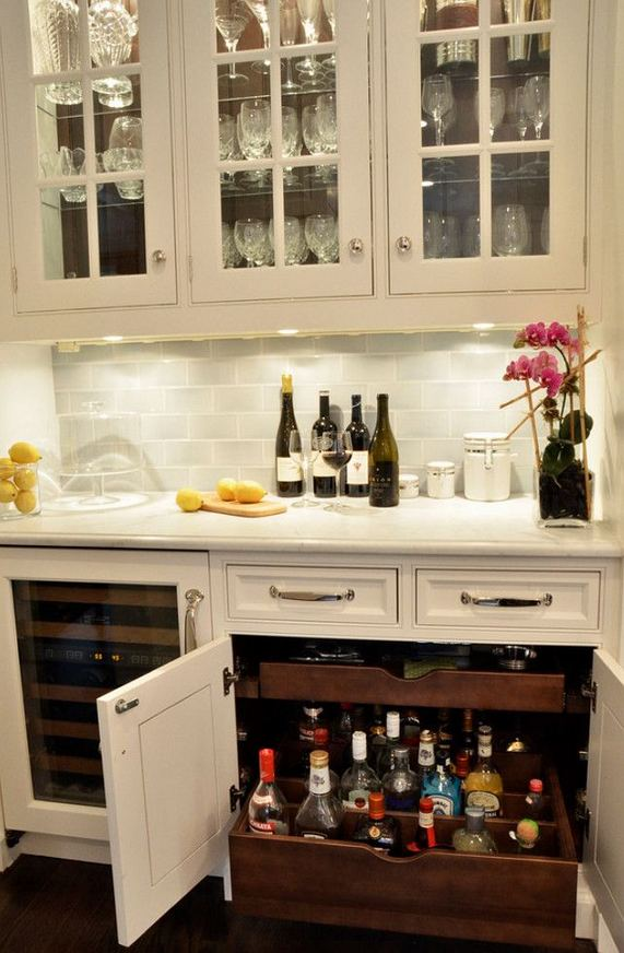 17 Easy DIY Mini Coffee Bar Ideas For Your Home 31