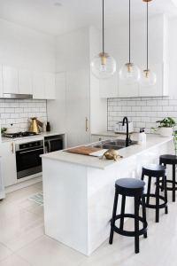 17 Elegant First Apartment Small Kitchen Bar Design Ideas 16