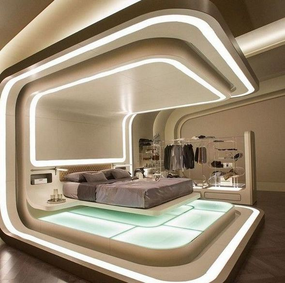 17 Modern And Futuristic Interior Designs To Inspire You 12