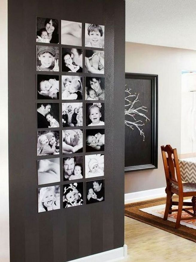 18 Creative Photo Wall Display Ideas You Should Try 13