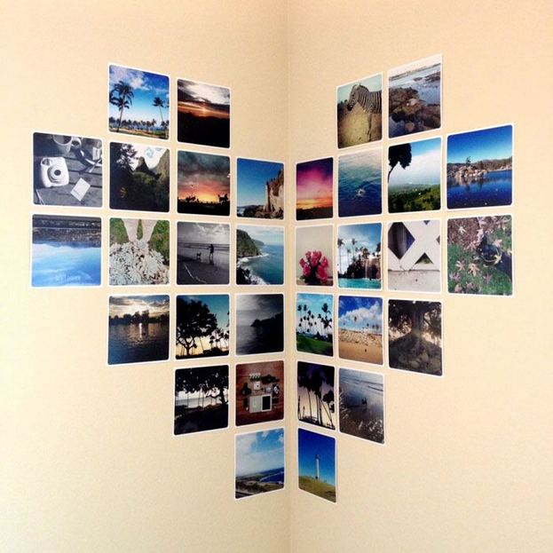 18 Creative Photo Wall Display Ideas You Should Try 29