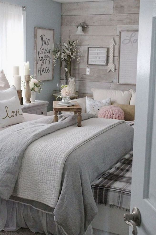 18 Romantic Shabby Chic Master Bedroom Ideas 14