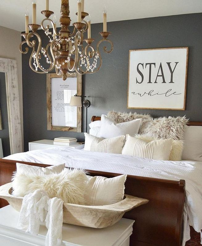 18 Romantic Shabby Chic Master Bedroom Ideas 26