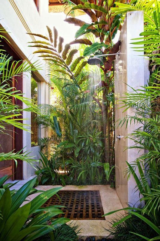 19 Inspiring Outdoor Shower Design Ideas 06