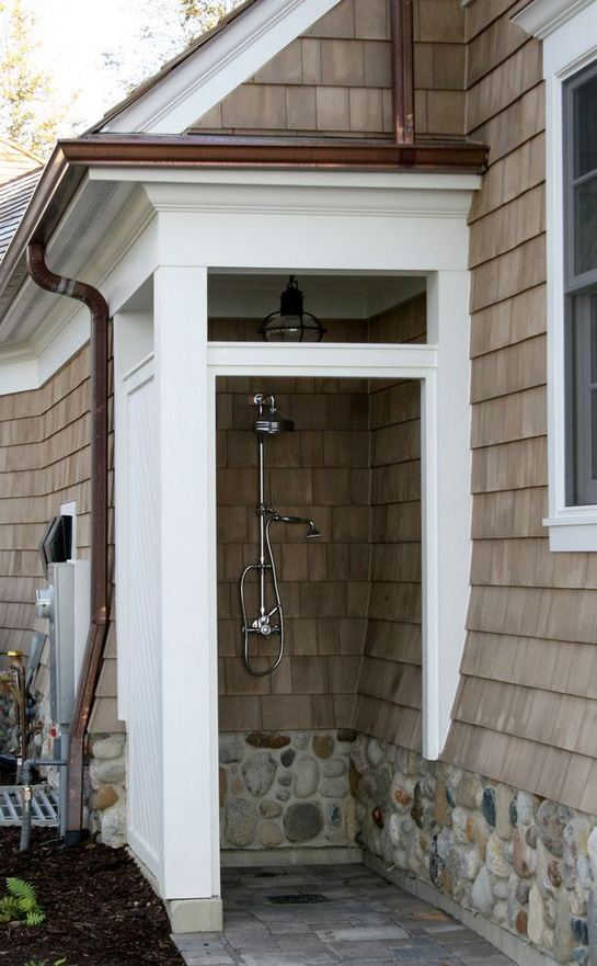 19 Inspiring Outdoor Shower Design Ideas 12