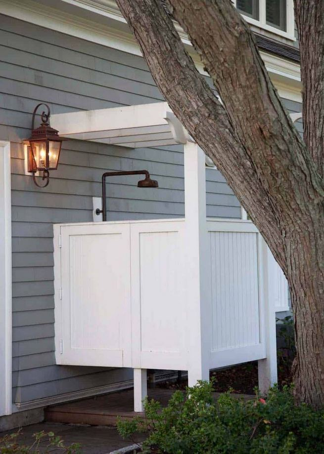 19 Inspiring Outdoor Shower Design Ideas 24