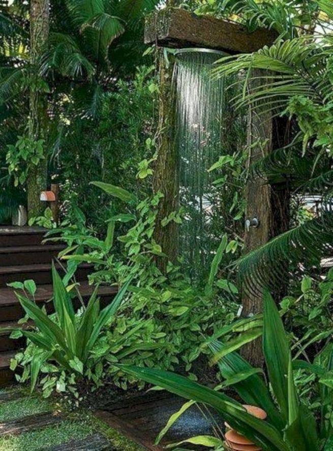 19 Inspiring Outdoor Shower Design Ideas 30