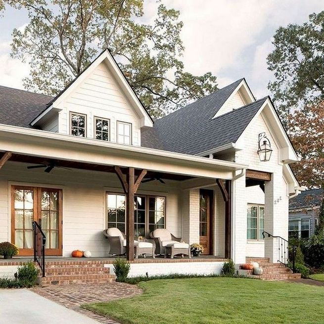 21 Amazing Rustic Farmhouse Exterior Designs Ideas 09