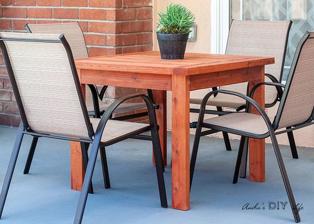 21 Vintage DIY Dining Table Design Ideas 18